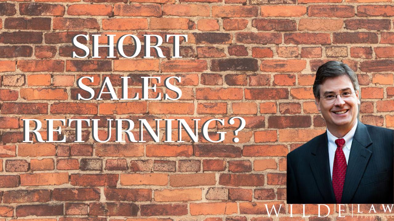 Steve Wilde – Short Sales